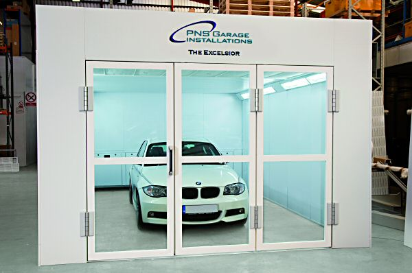 The Excelsior spraybooth - designed exclusively for PNS.